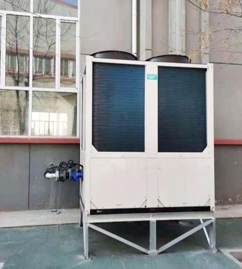 稀土研究院A4-1厂房清洁能源供热改造