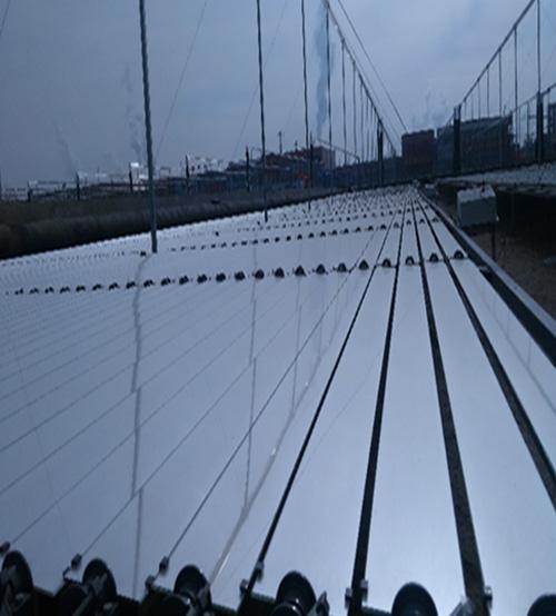 乌海线性菲涅尔太阳能聚光集热系统