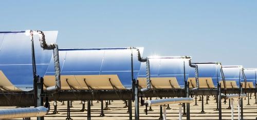 乌海太阳能槽式聚光集热系统